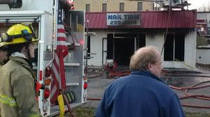 UPDATE: Fire under control at Campbell County nail salon