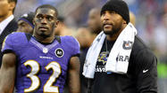 Ravens' Super Bowl veterans share experiences with teammates