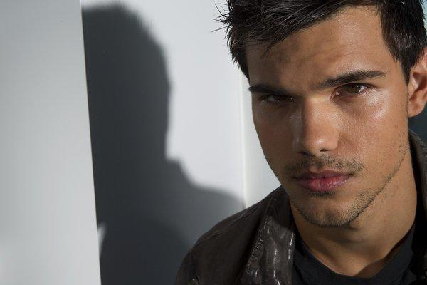 "OMG the TAYLORS! Taylor Swift, then 20, and ""The Twilight Saga"" hunk Taylor Lautner, then 17, met on the set of the Garry Marsh"
