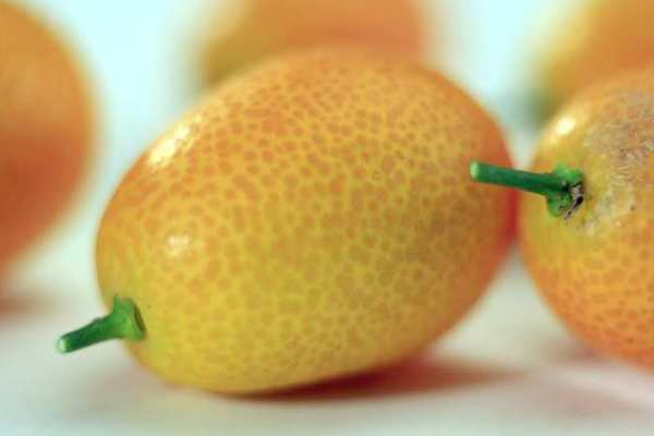 Unlike almost every other citrus variety, kumquats are eaten in their entirety, skin and all.