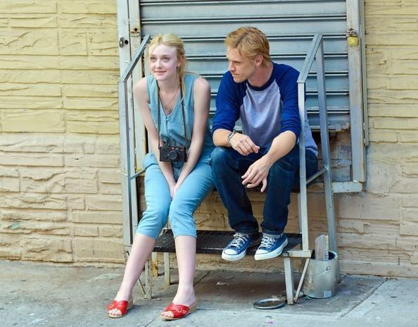 College-bound Dakota Fanning and ice-cream vendor Boyd Holbrook in 'Very Good Girls'
