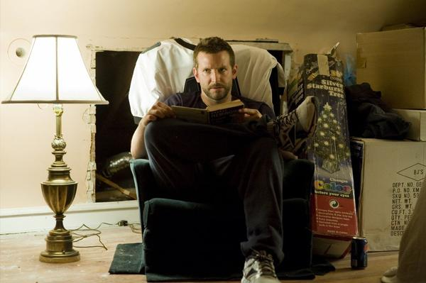 "Bradley Cooper in ""Silver Linings Playbook."""