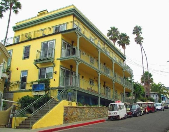 Avalon Hotel on Catalina Island