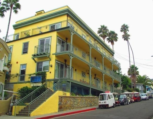 The Avalon Hotel on Catalina Island was ranked No. 20 on TripAdvisor's top 25 hotels for service in the United States.