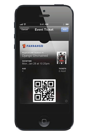 Apple's latest mobile software, iOS 6.1, lets you use Siri to purchase movie tickets through the Fandango app.