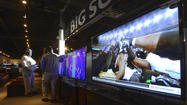Rising demand for big-screen TVs for Super Bowl [Pictures]