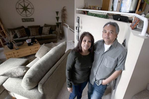 Pattie and Ollie Sibug would like to buy their San Diego town house, which they are renting for $1,750 a month. They are among those who may benefit from a proposed subprime mortgage program.
