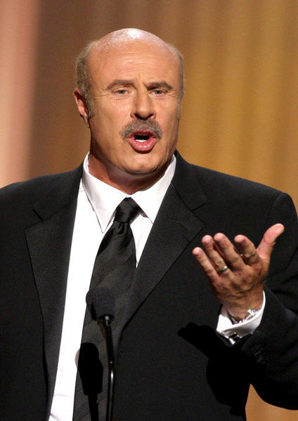 TV personality Dr. Phil McGraw speaks onstage during  the 36th Annual Daytime Emmy Awards at The Orpheum Theatre in 2009 in Los Angeles, California.