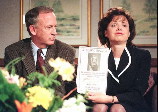 John and Patsy Ramsey were eventually cleared in the death of their 6-year-old daughter, JonBenet.