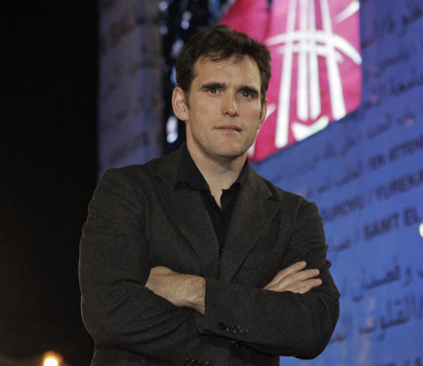 "There's ""Something"" about Matt Dillon...he's turning 46 today. (Photo by ABDELHAK SENNA/AFP/Getty Images)"