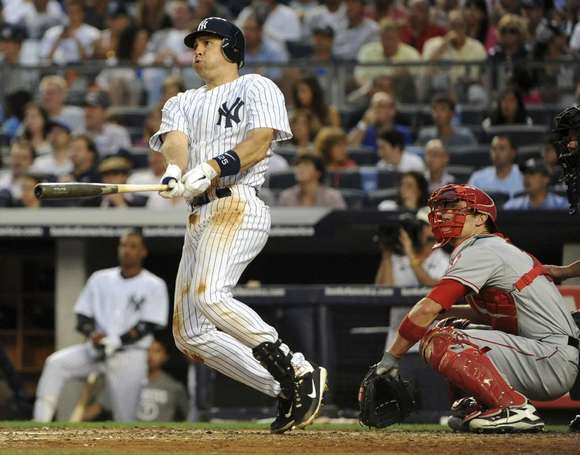 The Yankees' Mark Teixeira