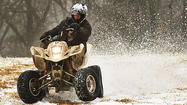 A winter storm brought a mixture of snow and rain across the Tri-State area on Monday, causing treacherous driving conditions and closing schools.