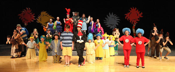 Twenty-nine Aberdeen Central students will present Seussical, a one-act musical, tonight at the Thomas F. Kelly Theatre.