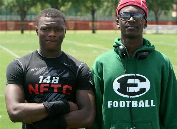 Dominic Walker and Tony Stevens, Orlando Evans, Auburn commits, photo