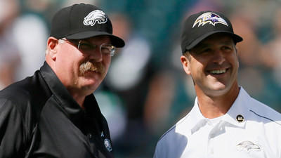 John Harbaugh drawing on Super Bowl experience with Eagles, And…