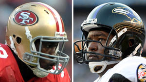 Super Bowl showdowns: Can Bryant McKinnie and the Ravens handle 49ers pass rusher Aldon Smith?