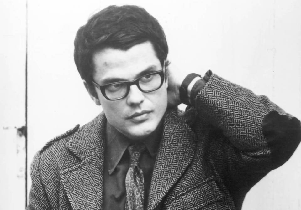 Photo of Charlie Haden in 1970.