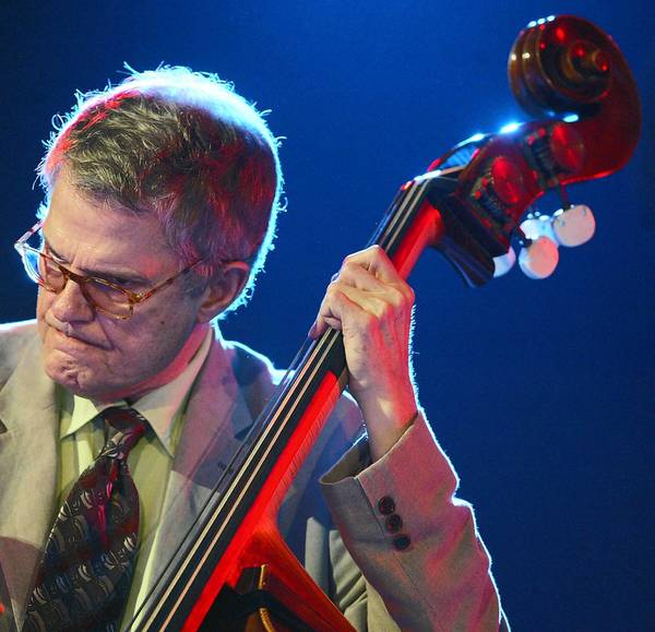 Jazz musician Charlie Haden performs in 2005 at the Vitoria-Gasteiz Jazz Festival in Spain.