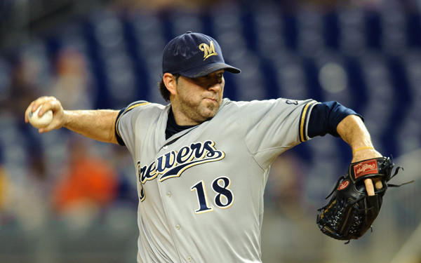 The former Brewers right-hander agreed to a one-year deal with the New York Mets worth a reported $4 million.
