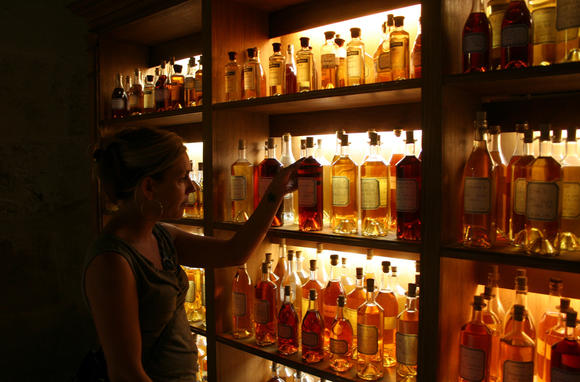 Travel to France for its distilled spirits