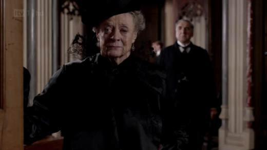 'Downton Abbey': Lady Violet, the Dowager Countess' notable quotables: Lady Violet: My dear, when tragedies strike, we try to find someone to blame. And in the absence of a suitable candidate, we usually blame ourselves. You are not to blame. Our darling Sybil has died during childbirth, like too many women before her. And all we can do now is cherish her memory and her child.