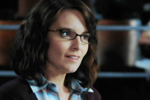 "Tina Fey as Liz Lemon, Jane Krakowski as Jenna in ""Season Four."""