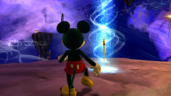 "A scene from ""Epic Mickey 2: The Power of Two"""