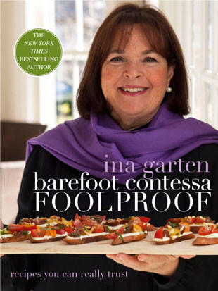 "Ina Garten's ""Barefoot Contessa: Foolproof"" was the bestselling cookbook of 2012."