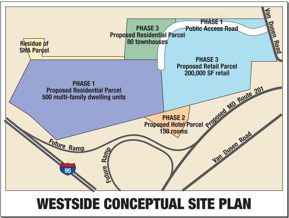 Westside Conceptual Site Plan