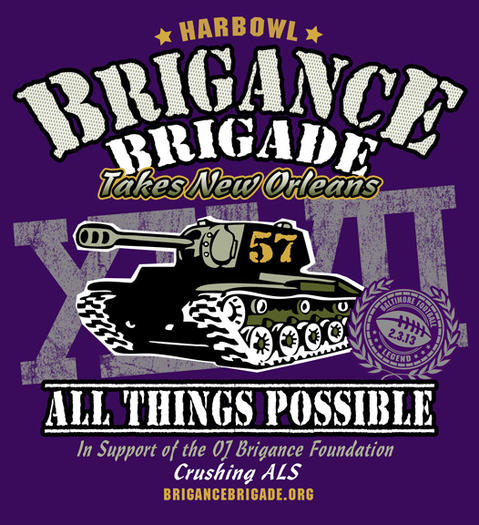 T-shirt to benefit the Brigance Foundation