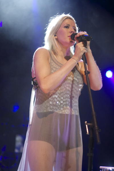 Elie Goulding performing at a sold out show on Jan. 16 at The Fillmore Miami Beach at Jackie Gleason Theater.