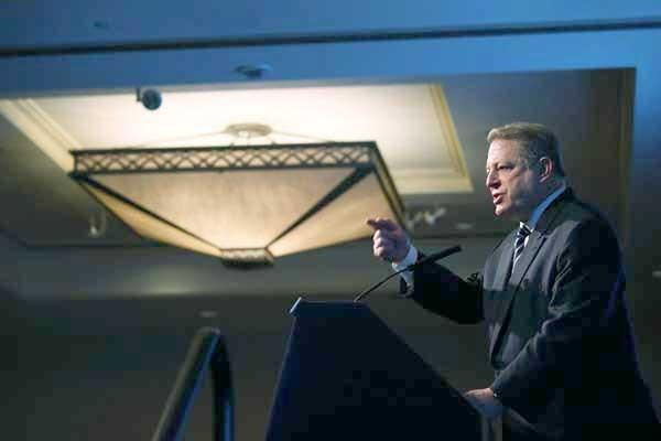 "Al Gore will be a guest on ""The Daily Show With Jon Stewart"""