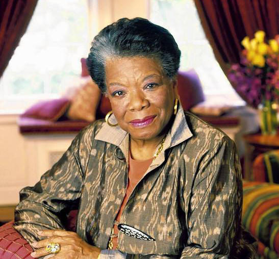 Maya Angelou chose American educator and civil rights leader Mary McLeod Bethune.