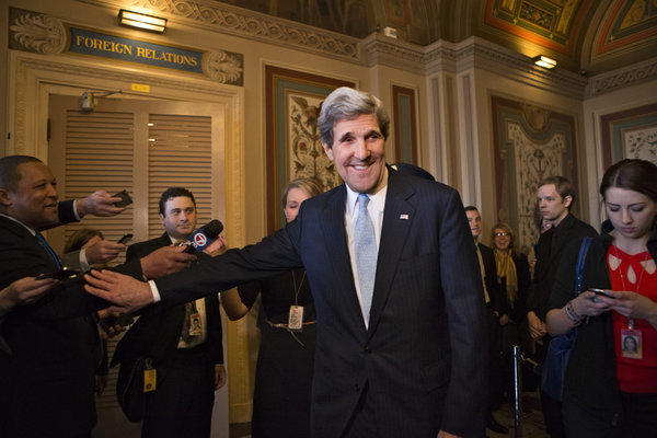 Sen. John F. Kerry (D-Mass.) was confirmed by an overwhelming majority in the Senate as the next secretary of State.