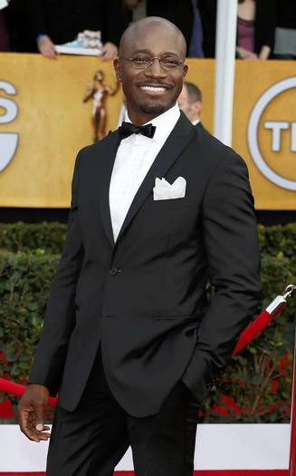 Actor Taye Diggs arrives at the 19th annual SAG Awards in Los Angeles