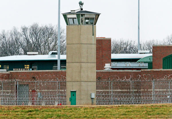 The Federal Correctional Institution in Terre Haute, Ind. Former Illinois Gov. George Ryan will be transferred from this prison to a halfway house on Chicago's West Side.