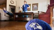 Superstitious county fans root for Ravens in Super Bowl