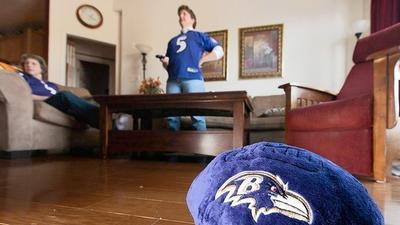 Superstitious Howard fans root for Ravens in Super Bowl