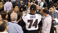 Over the years, Ravens offensive tackle Michael Oher hasn't exactly made it a secret about his discontent regarding how he's portrayed in the movie about his life.