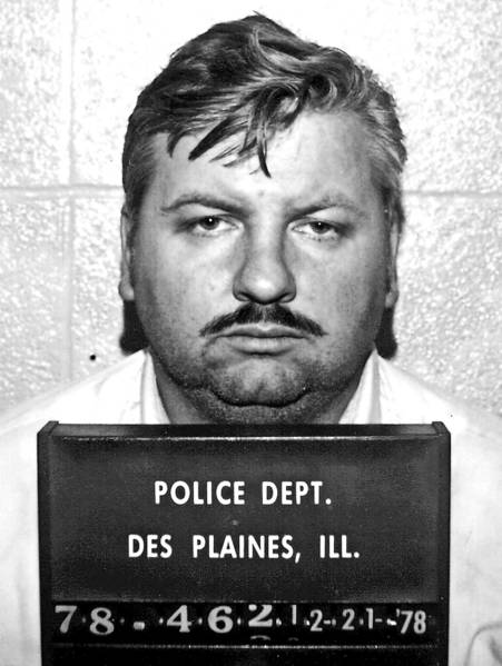 Convicted serial killer John Wayne Gacy was executed in 1994.
