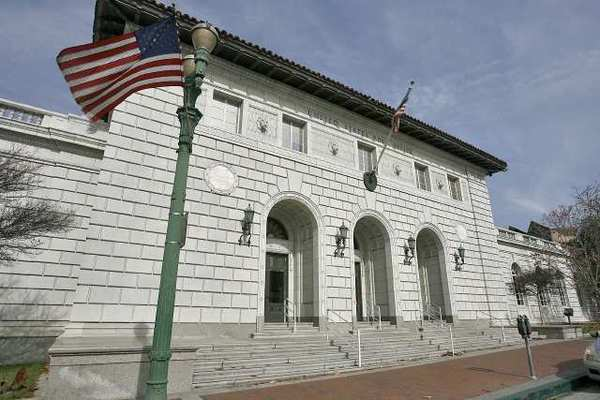 The historic United States Post Office building at 313 E. Broadway, in Glendale. The site may be closed and sold off by the USPS as part of a nationwide effort to cut costs and raise capital.