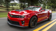 Rapid Review: Chevy's 2013 Camaro ZL1 convertible