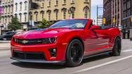 2013 Chevy Camaro ZL1 convertible