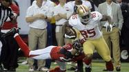 As one of the leading tight ends in the National Football League, the San Francisco 49ers' Vernon Davis will be one to watch during Sunday's Super Bowl game against the Baltimore Ravens.