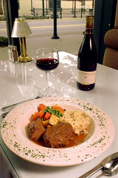 Comfort-food flashback: Pot roast from Harvey's Bistro.