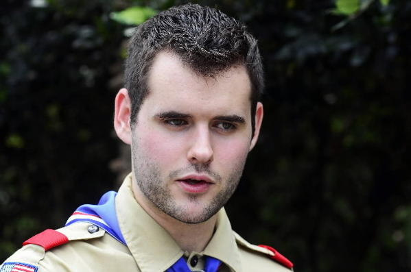 Eagle Scout Zach Wahls of Iowa City, Iowa, is the founder of a group opposing the Boy Scouts' anti-gay policy.