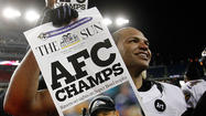 NEW ORLEANS — When Ravens linebacker Brendon Ayanbadejo finally stood on the sporting world's stage he openly sought Tuesday at Super Bowl XLVII Media Day, reluctance oddly overcame him.