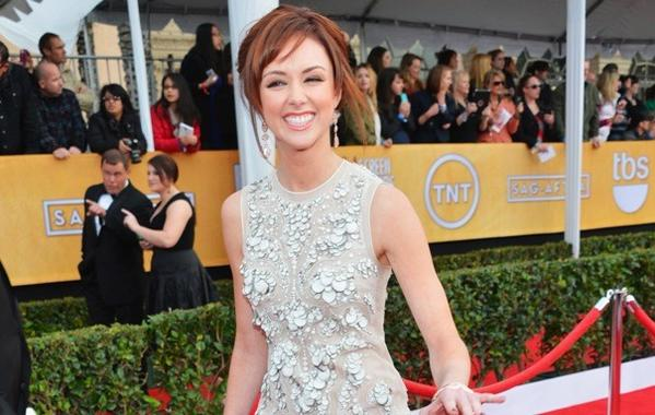 At the SAG Awards in January, 2012.