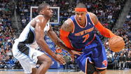 NEW YORK — The Orlando Magic's top priority against the New York Knicks tonight will be straightforward in its aim and complex in its execution: Slow down Carmelo Anthony.