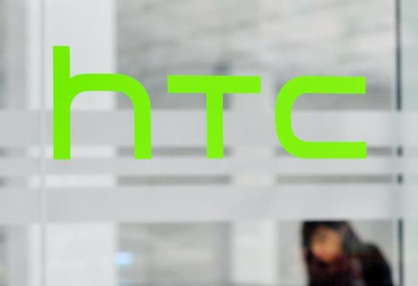 An employee at HTC's home base in New Taipei City, Taiwan.